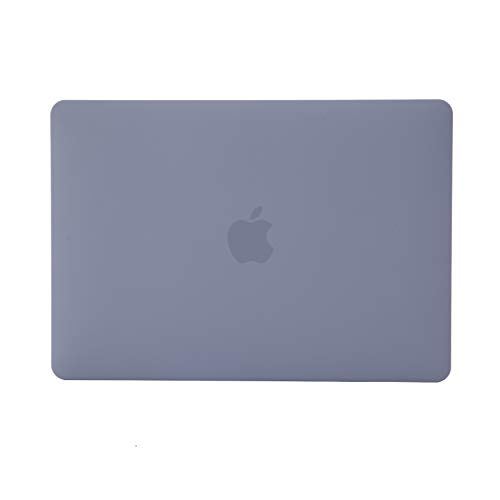 Se7enline MacBook Pro 13 inch 2020 Case Plastic Hard Laptop Cover for MacBook Pro 13.3-inch Model A2338/A2251/A2289 with Sleeve Bag, Keyboard Cover, Screen Protector, Dust Plug, Lavender Gray
