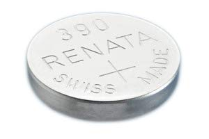 (Silver Oxide Button Cell Battery 390 by Renata)