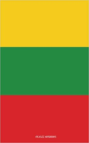 Flag of Lithuania: Notebook / Journal