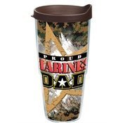 Tervis Tumbler Proud Marines Dad Wrap 24oz with Travel Lid by Tervis by Tervis