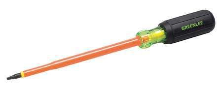 Greenlee Steel Insulated Screwdriver with 6