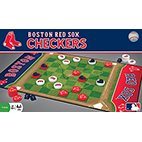 MLB Licensed Team Checkers Game (Boston Red Sox)
