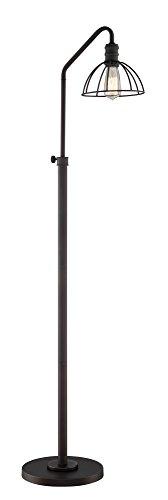 - Lite Source Metal Floor Lamp in Burnished Bronze Finish