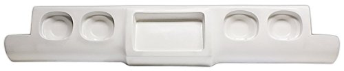 IPCW CWR-88SH Chevrolet Pickup Fiberglass Stepside Roll Pan with 4 Holes