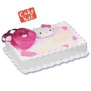 Hello Kitty Compact Purse Cake Kit Topper by Bakery Crafts -