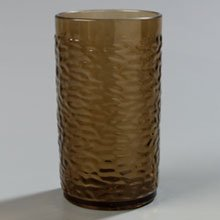 Smoke Thick-Walled Pebble Optic Tumbler 12 Ounce - 24 per (Pebble Optic Plastic Tumbler)