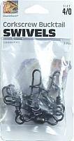 Danielson Swivels Corkscrew Fishing Equipment, Size 4