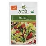 Tropical Traditions Organic Mixes: Italian Salad Dressing Mix - .7 oz Packet