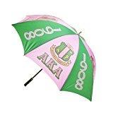 Alpha Kappa Alpha AKA African American black Greek Sorority 30 inches Jumbo Umbrella