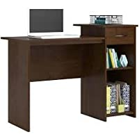 Multiple Finishes Northfield Alder Student Desk With Easy-glide Accessory Drawer and Adjustable Shelf