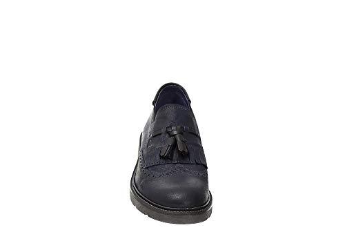 Caffè nero 228 Lrp625 Fringe Blu Pantofola I17 rrdW17wnFq