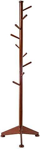 Coat Tree 9 Pegs, Walnut Clothes rack Wall hooks Clothing rack Coat rack Hat rack Home office Storage organizer Coat rack wall mount Coat hooks Hat rack for wall Garment rack Hat organizer
