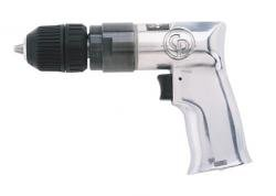 Chicago Pneumatic CP785QC 3/8-Inch Heavy Duty Drill with Keyless Chuck - Chicago Pneumatic Keyless Drill
