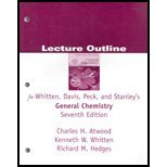 General Chemistry, Seventh Edition Solutions Manual