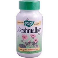 Marshmallow Root, 480 mg, 100 Capsules, From Nature's Way (Pack of 4) by Nature's Way (Image #1)