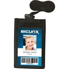 - SICURIX Carrying Case (Pouch) Business Card - Black
