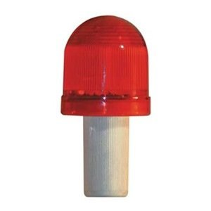 Safety Cone , LED Flashing, Red, Plastic by Tapco