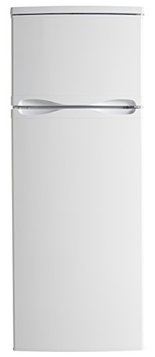 Danby DPF073C1WDB 24-Inch Top Freezer Refrigerator with 7.3 cu. ft. Capacity Energy Star Qualified Mechanical Thermostat Interior Light and Reversible Door Hinge (Door Top Freezer Hinge Refrigerator)