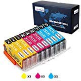 Office World Compatible Ink Cartridge Replacement for Canon CLI-251XL Color,Compatible with Canon PIXMA MX922 MG7520 MG5520 MG5420 MG7120 MG6320 MG6620 IP8720 MG5620