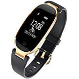 WFCL Fitness Tracker, Waterproof Activity Tracker with Pedometer Step and Sleep Monitor Calorie Counter Smart Bracelet for Women (black)