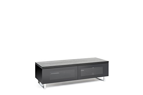 TECHLINK Panorama TV Stand with High Gloss Base and Chrome