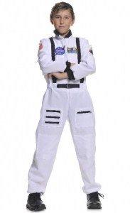 Underwraps Children's Astronaut Costume - White, Medium (6-8)]()