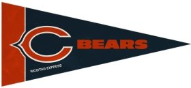 - Chicago Bears Mini Pennant Set: 8-Pack