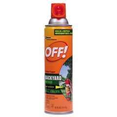 OFF! Backyard Insect Repellent, 16 oz Aerosol, 12/Carton by OFF!