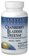 Cranberry-Bladder-Defense-120-Tablets-by-Planetary-Herbals by Planetary (Planetary Herbals Cranberry)