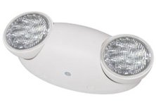 LED Emergency Light with 90 Minute Battery - UL Listed - Code Compliant