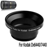Digital Camera Adapter Tube Ring for Kodak DX6440/DX7440 (Black)