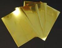 Madaboutink Inkjet Printable Glossy Metallic Gold Mirror Adhesive Film 100 Micron 5 A4 Sheets ()