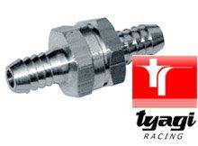 Tyagi Racing Aluminio, 8 mm V/álvula antirretorno