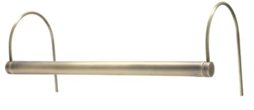 House of Troy CPL24-51 Slim-Line 1LT 14W 24IN CFL Energy Efficient Picture Light, Satin Brass Finish