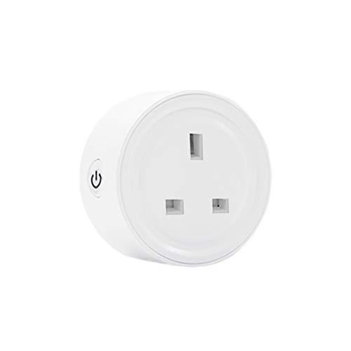 Mini Smart Plug Outlet,Zigbee eWelink Voice Controlled Smart Plug Socket Compatible with Alexa, Echo, SmartThings Hub(UK…