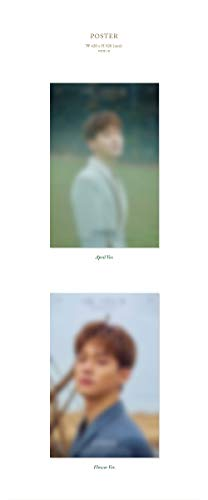 SM Entertainment CHEN EXO - April, and a Flower [Flower ver.] (1st Mini Album) CD+Photobook+1Photocard+1Bookmark+Folded Poster+Double Side Extra Photocards Set by SM Entertainment (Image #4)