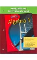 Algebra 1: Study Guide and Intervention Handbook