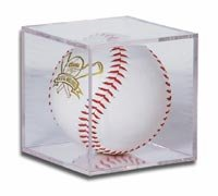 Creative Sports BQ-SOFTBALL BallQube Softball Display Case-Holder - Ballqube Softball Holder