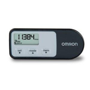 Omron HJ-321 Tri-Axis Pedometer, Black & Mini Tool Box (ml)