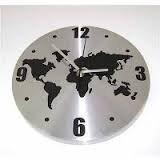 IKEA PERSBY mapa del mundo reloj de pared
