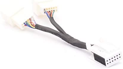Y Adaptor 12 Pin For Vw Audi Seat Skoda With Aux Media In Until July 2010