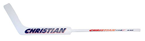 Christian Pro 440 Wood Ice Hockey Goalie Stick: (Junior Stick, Right Curve) - Pro Goalie Stick
