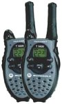 Motorola T5620 AA 2-Mile 22-Channel FRS GMRS Two-Way Radio Pair