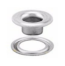 #2 SELF-PIERCING GROMMET and WASHER STAINLESS STEEL 304 (10,000 pcs. of each) by Stimpson Co., Inc.