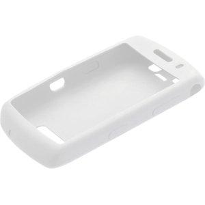 White Silicone Skin Cover Case for Blackberry 9530 9500 Storm Thunder -
