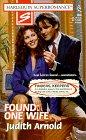 Found, Judith Arnold, 0373708092