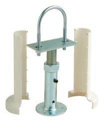 Prensatelas estante para radiador de hierro fundido y acero, color blanco, venduti a par