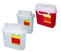 305425 PT# 305425- Container Sharps Guardian Side Entry Pearl 5.4qt Ea by, Becton-Dickinson