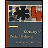 Sociology of Deviant Behavior by Clinard,Marshall B.; Meier,Robert F.. [2003,12th Edition.] Hardcover