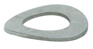 M5 DIN 137 Zinc Plated Wave Washer, Pack of 10
